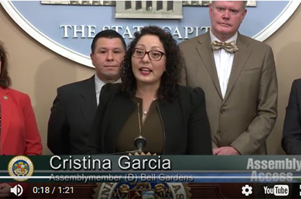 California #MeToo Leader Cristina Garcia Accuses Of Sexual Harassment
