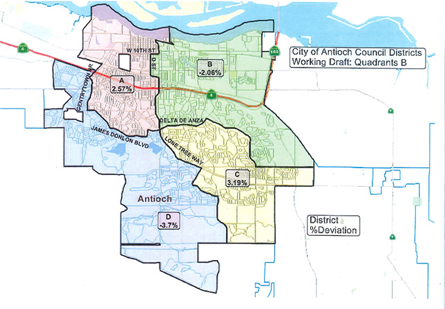 Antioch City Council Continues to Discuss District Mapping, Inches ...