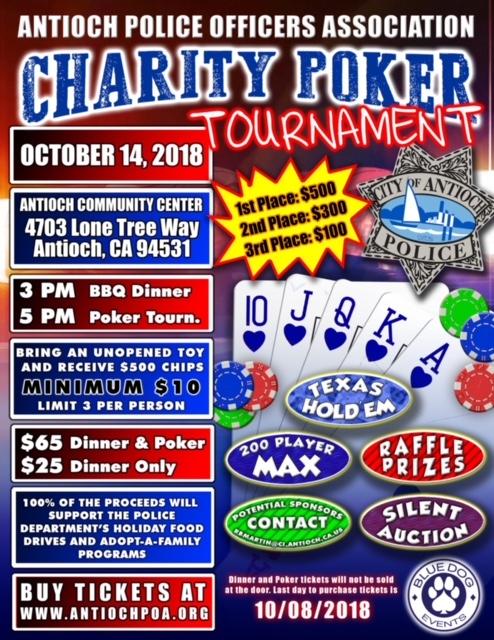 Host poker tournament fundraiser