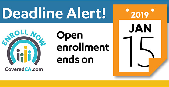 Health Insurance California >> Jan 15 Is Deadline To Get Health Insurance With Financial Help