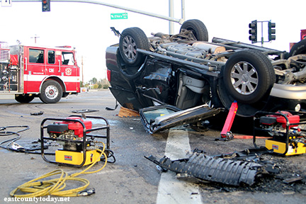 Video: Man Airlifted to Hospital After 3-Vehicle Crash in