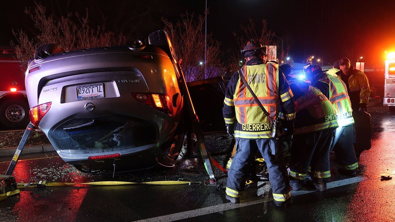 Brentwood: Two Injured in Rollover Vehicle Crash