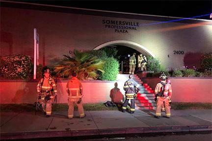 Firefighters Knockdown 2-Alarm Commercial Fire in Antioch