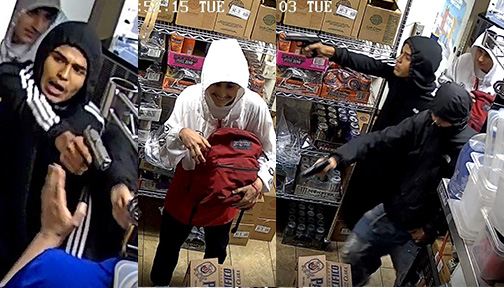 Livermore Police Seek Public's Help Identifying Robbery Suspects