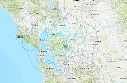 Berkeley experiences 4.5 magnutide quake